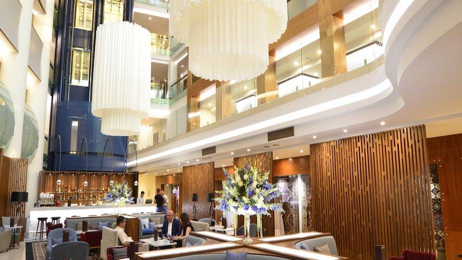 Axo hospitality lighting - lounge area