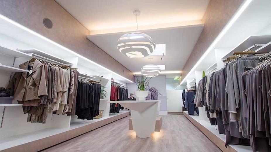 Blux retail lighting