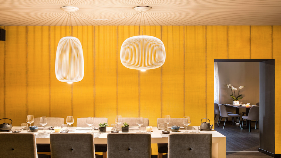 Foscarini restaurant lighting