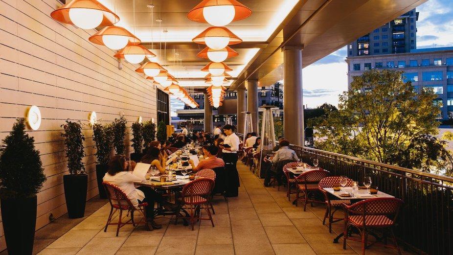 Rich Brilliant Willing restaurant lighting